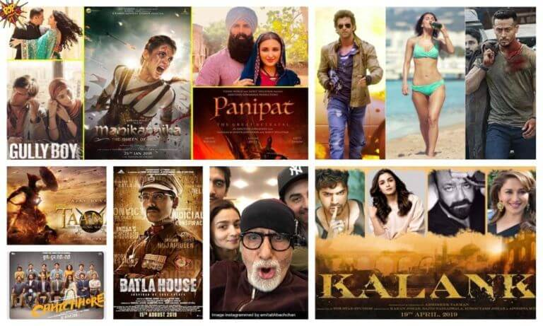Top 5 Bollywood Movies Of 2019